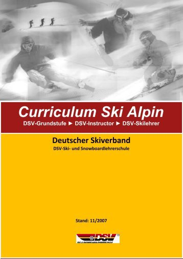 Curriculum Alpin