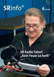 """SR Radio Tatort """"Kein Feuer so heiß"""" - Saarländischer Rundfunk"""