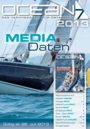 Preisliste und Mediadaten - Ocean7