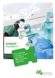 EasyWarm® Broschüre - Mölnlycke Health Care