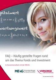 FAQ – Häufig gestellte Fragen rund um das Thema Fonds ... - Anbieter