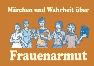 """Download: """"Märchen und Wahrheit über Frauenarmut"""""""