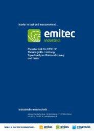 Emitec Produkt Katalog - Polyscope