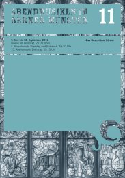 Konzertprogramme 2011.pdf - Abendmusiken im Berner Münster
