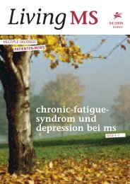 Fatigue-Syndrom und Depression (2008) Download - LivingMS