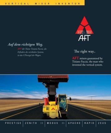 The right way.. Auf dem richtigen Weg. - AFT - Vertical Mixer