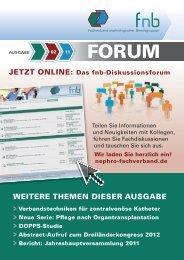 02·2011 - Fachverband Nephrologischer Berufsgruppen