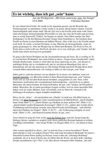 2005-09-25 Es ist wichtig, dass ich gut sein kann Christian Stricker