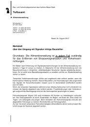 Merkblatt Signale neu 120228 - Tiefbauamt - Basel-Stadt