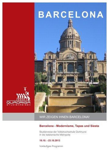 Ausführliche Reisebeschreibung (PDF) - Quadriga-Studienreisen