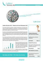 LabLive 2/11 - Labtec Services AG