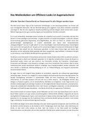 Steueroase Deutschland.pdf - Partei der Vernunft in Niedersachsen