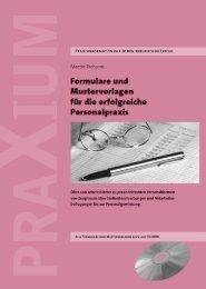 Formulare und Mustervorlagen für die erfolgreiche ... - Hrmbooks