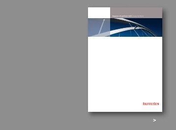 Rapporto di gestione 2005 Gruppo Raiffeisen