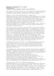 Pressespiegel zur Bleiberechtsdebatte 18.11.2010 - Flüchtlingsrat ...