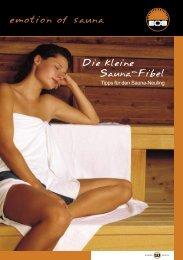 Die kleine Sauna-Fibel - Saunabau