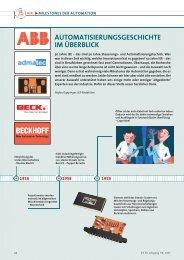 automatisierungsgeschichte im überblick - Neue Verpackung
