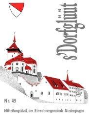 Nr. 49 - Gemeinde Niedergösgen