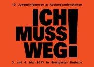 10. Jugendinfomesse zu Auslandsaufenthalten 3. und 4. Mai 2013 ...