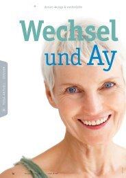 dossier yoga & wechseljahre - Ayurveda Gesundheits