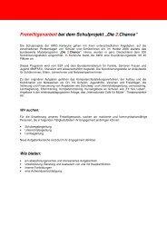 Freiwilligenarbeit Schulprojekte - AWO Karlsruhe