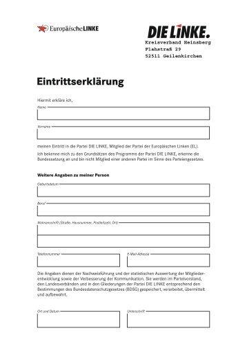 Vereins Flyer mit Beitrittserklärung zum Ausdrucken   kneipp