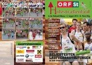 Zeitung - Holzstrassenlauf