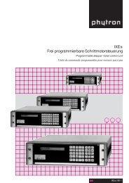 IXEQ Frei programmierbare Schrittmotorsteuerung - TSA