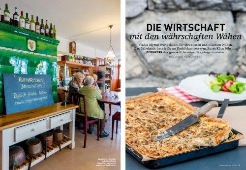 Bericht in der Schweizer Familie / April 2013 - Restaurant Bergwerk ...