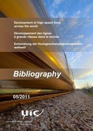 Entwicklung der Hochgeschwindigkeitsstrecken weltweit - UIC