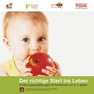 Richtig essen von Anfang an - Tiroler Gebietskrankenkasse