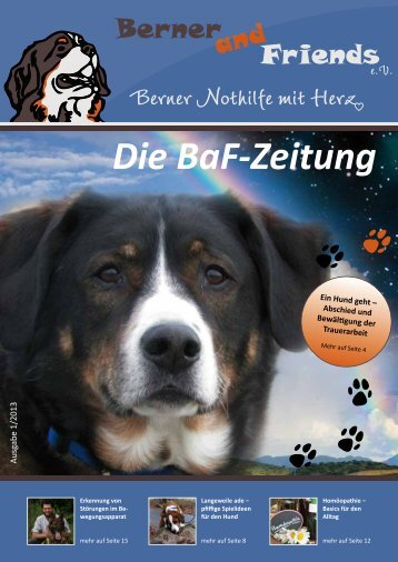 Die BaF-Zeitung - Berner and Friends eV