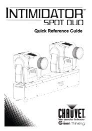 Intimidator Spot Duo ML Quick Reference Guide, Rev. 2 ... - Karma