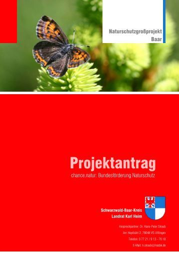 Projektantrag - Landratsamt Schwarzwald-Baar-Kreis