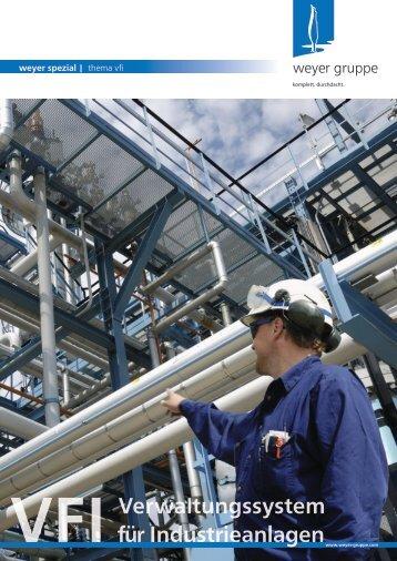 Verwaltungssystem für Industrieanlagen (VFI) - weyer gruppe