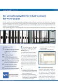 Verwaltungssystem für Industrieanlagen (VFI) - weyer gruppe - Page 2