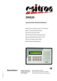 DNS 20 - esitron