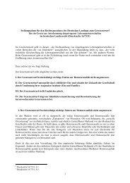 Stellungnahme für den Rechtssausschuss des Hessischen ...