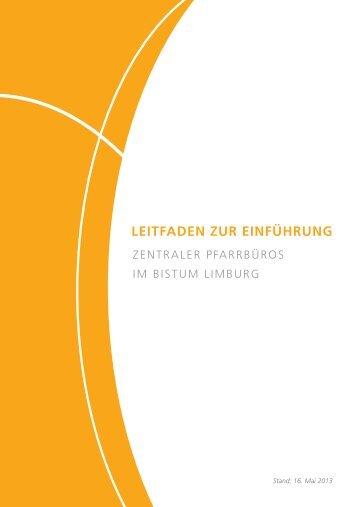 Zentrales Pfarrbüro - Bistum Limburg