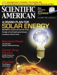 Scientific American - 2008.01 - A Grand Plan For Solar - Delta Force