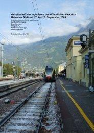 Südtirol, 17. bis 20. September 2009 - Gesellschaft der Ingenieure ...