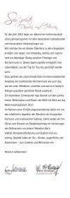 Programme 2012 Cantorat Martinskirche Ebingen - Ensemble für ... - Seite 2