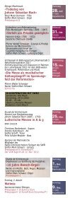 Programme 2012 Cantorat Martinskirche Ebingen - Ensemble für ... - Seite 6