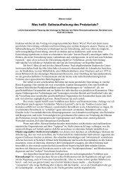 Werner Imhofs Referat als PDF-File zum Downlaod - Trend