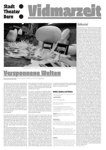 Versponnene Welten - Konzert Theater Bern
