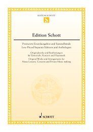 Edition Schott - Schott Music