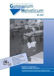 Gymnasium Helveticum Nr. 3/05 - vsg