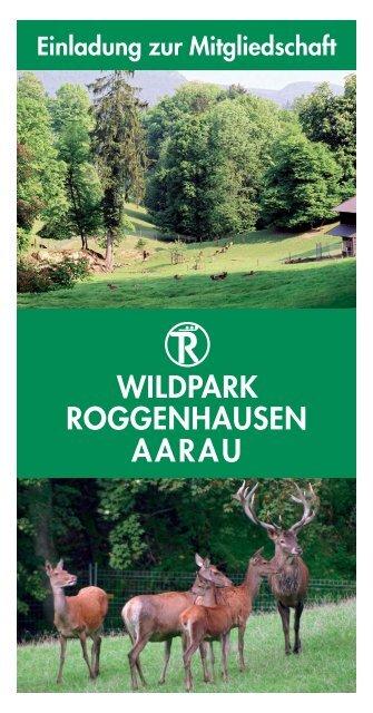 Flyer herunterladen - Wildpark Roggenhausen