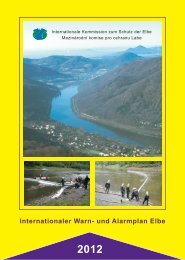 Internationaler Warn- und Alarmplan Elbe - bei der Internationalen ...