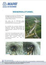 WIENERWALDTUNNEL - betontechnik.it